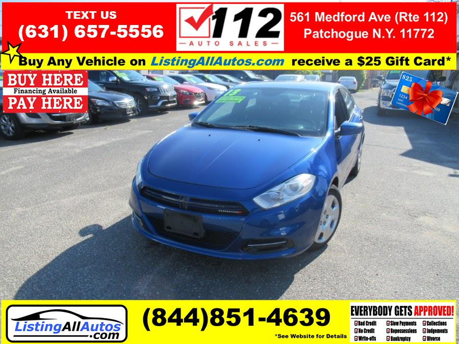 Used Dodge Dart 4dr Sdn Aero *Ltd Avail* 2013 | www.ListingAllAutos.com. Patchogue, New York