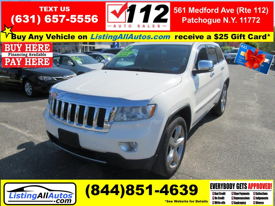 Used Jeep Grand Cherokee 4WD 4dr Overland Summit 2012 | www.ListingAllAutos.com. Patchogue, New York