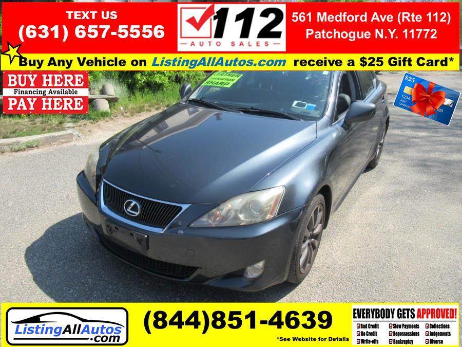 Used Lexus IS 250 4dr Sport Sdn Auto AWD 2007 | www.ListingAllAutos.com. Patchogue, New York
