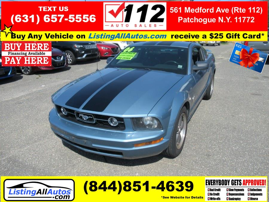 Used Ford Mustang 2dr Cpe Premium 2006 | www.ListingAllAutos.com. Patchogue, New York