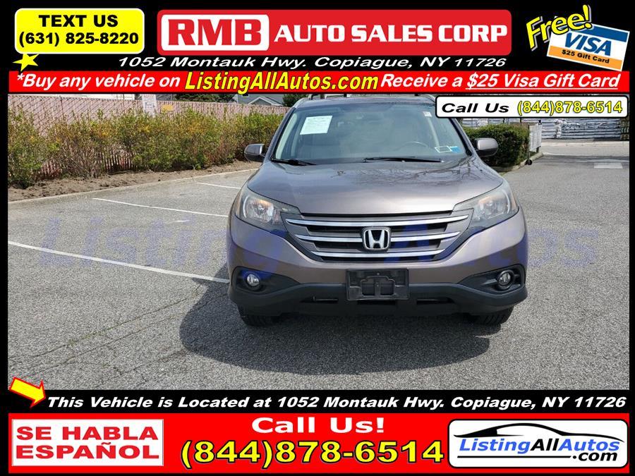 Used Honda Cr-v EX L AWD 4dr SUV 2012 | www.ListingAllAutos.com. Patchogue, New York