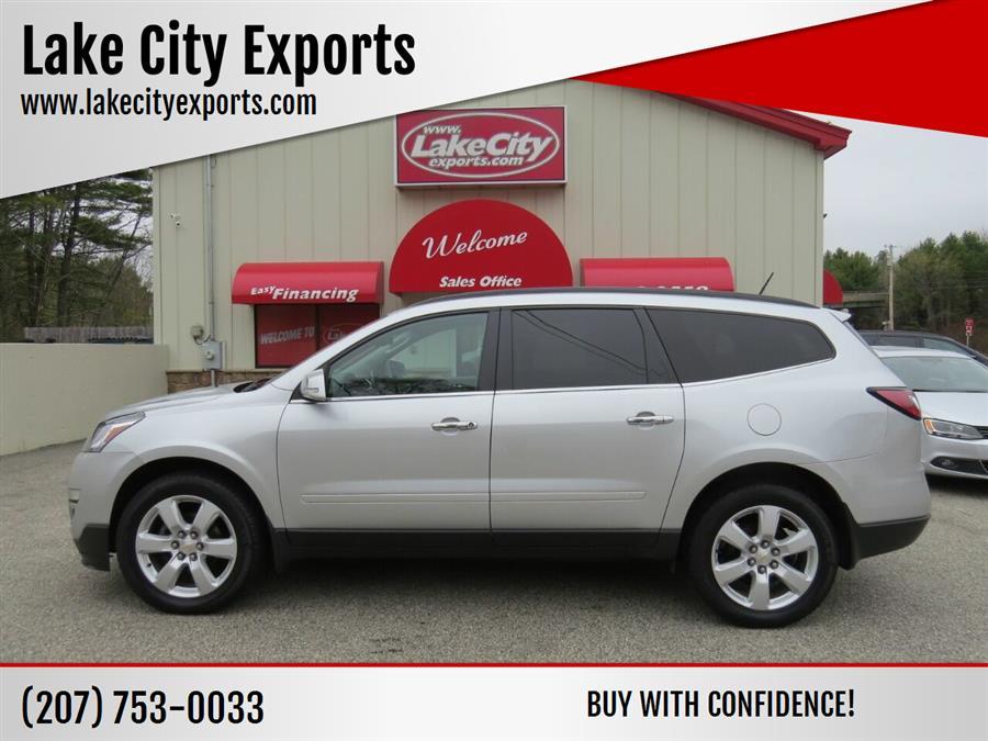 Used Chevrolet Traverse LT AWD 4dr SUV w/1LT 2017 | Lake City Exports Inc. Auburn, Maine