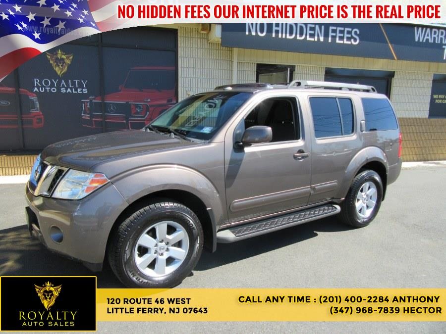 Used 2008 Nissan Pathfinder in Little Ferry, New Jersey | Royalty Auto Sales. Little Ferry, New Jersey