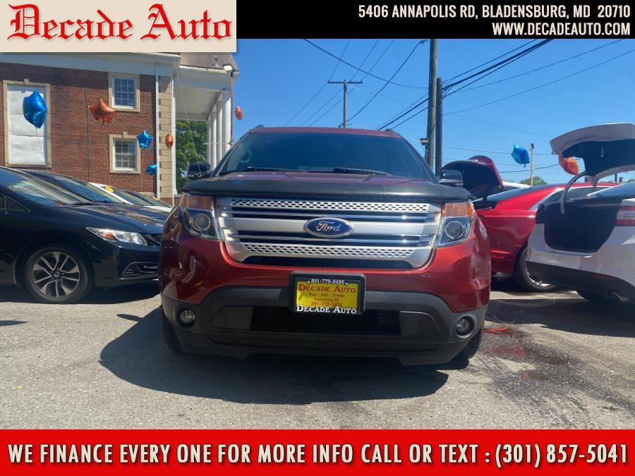 Used 2014 Ford Explorer in Bladensburg, Maryland | Decade Auto. Bladensburg, Maryland