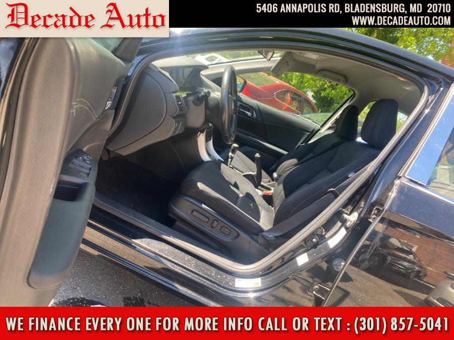 Used Honda Accord Sedan 4dr I4 Man Sport 2014 | Decade Auto. Bladensburg, Maryland