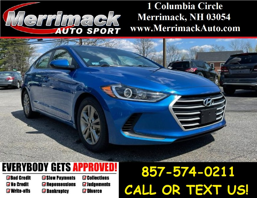 Used 2018 Hyundai Elantra in Merrimack, New Hampshire | Merrimack Autosport. Merrimack, New Hampshire