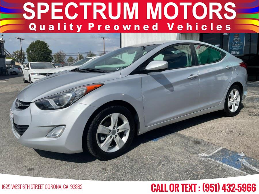 Used 2013 Hyundai Elantra in Corona, California | Spectrum Motors. Corona, California