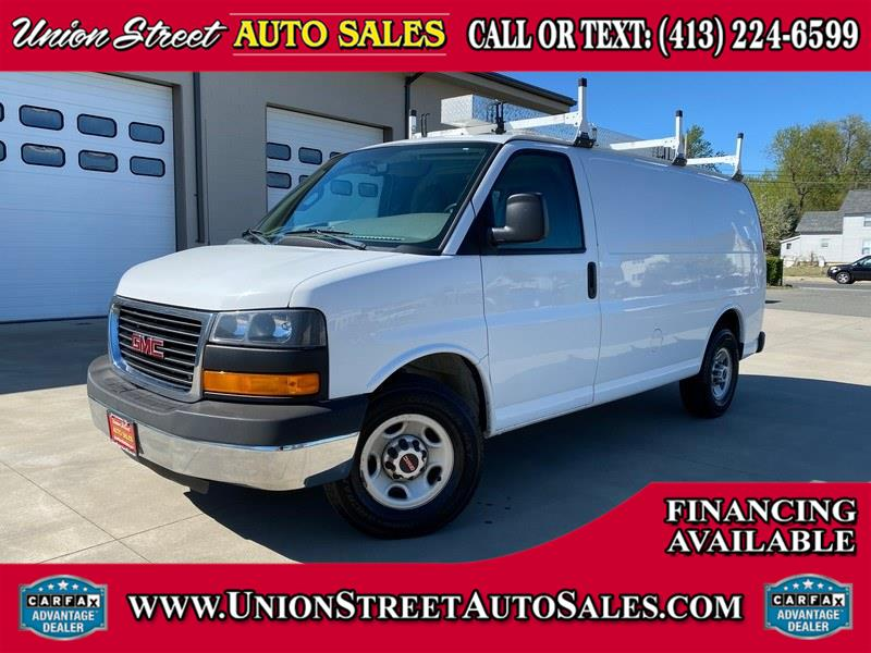 "Used GMC Savana Cargo Van RWD 2500 135"" 2016 | Union Street Auto Sales. West Springfield, Massachusetts"