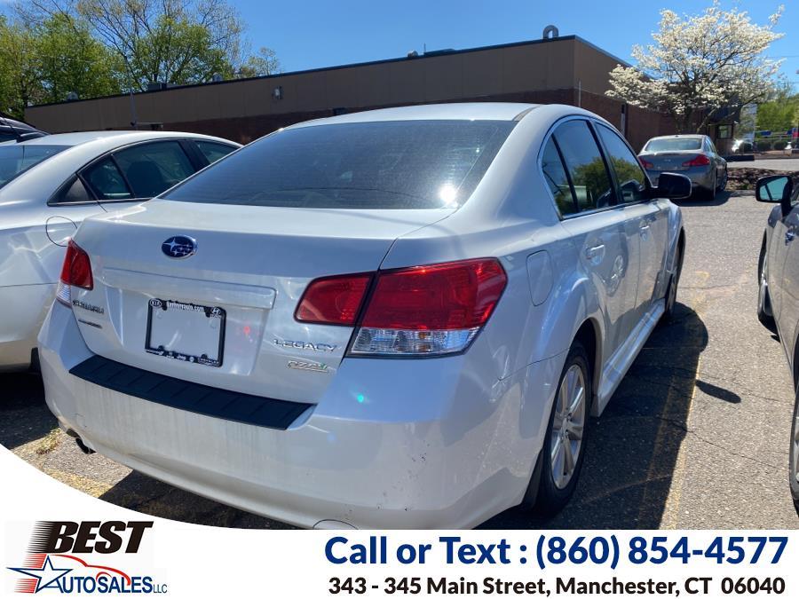 Used Subaru Legacy 4dr Sdn H4 Auto 2.5i Premium PZEV 2012   Best Auto Sales LLC. Manchester, Connecticut