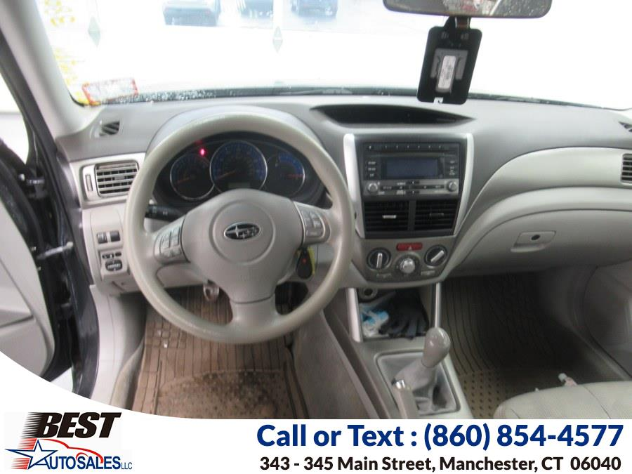 Used Subaru Forester 4dr Man X w/Prem/All-Weather PZEV 2009 | Best Auto Sales LLC. Manchester, Connecticut
