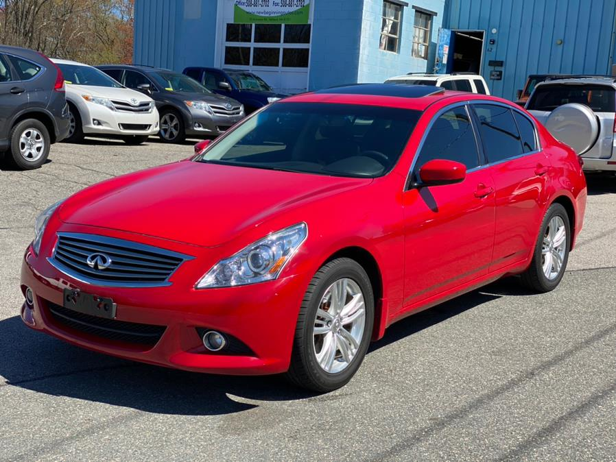 Used INFINITI G37 Sedan 4dr x AWD 2012 | New Beginning Auto Service Inc . Ashland , Massachusetts