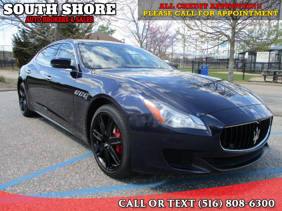 Used 2014 Maserati Quattroporte in Massapequa, New York | South Shore Auto Brokers & Sales. Massapequa, New York