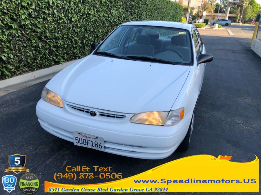 Used 1999 Toyota Corolla in Garden Grove, California | Speedline Motors. Garden Grove, California