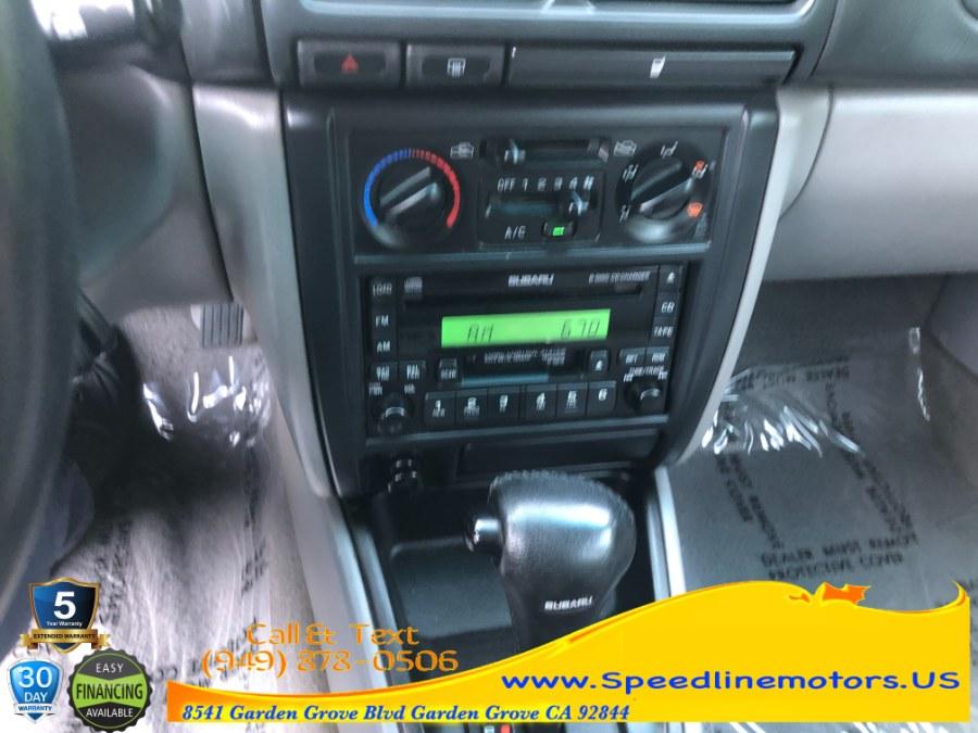 Used Subaru Forester 4dr S Auto w/Premium Pkg 2001   Speedline Motors. Garden Grove, California