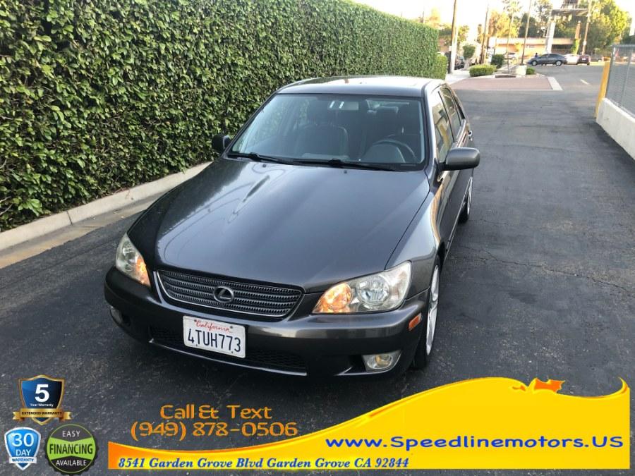 Used 2001 Lexus IS 300 in Garden Grove, California | Speedline Motors. Garden Grove, California