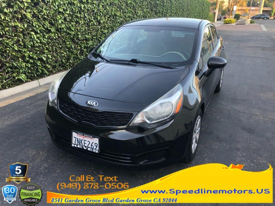 Used 2014 Kia Rio in Garden Grove, California | Speedline Motors. Garden Grove, California