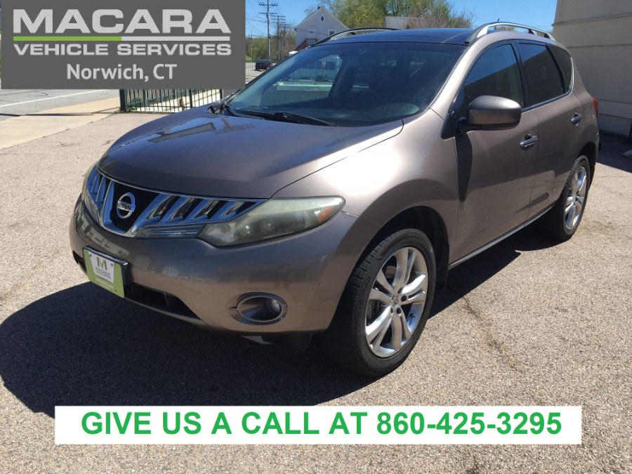 Used 2009 Nissan Murano in Norwich, Connecticut | MACARA Vehicle Services, Inc. Norwich, Connecticut
