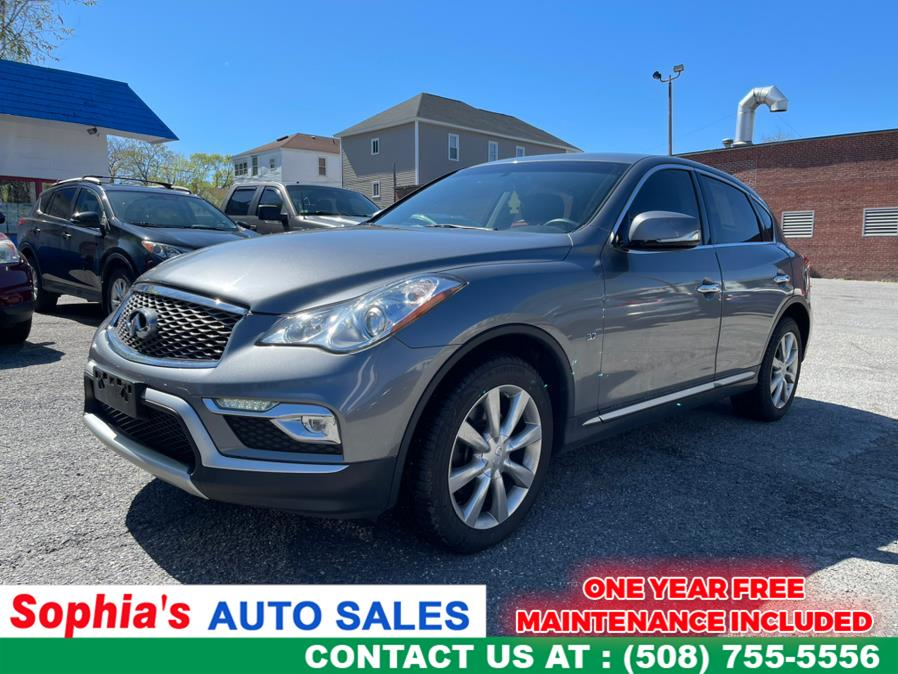 Used 2017 INFINITI QX50 in Worcester, Massachusetts | Sophia's Auto Sales Inc. Worcester, Massachusetts