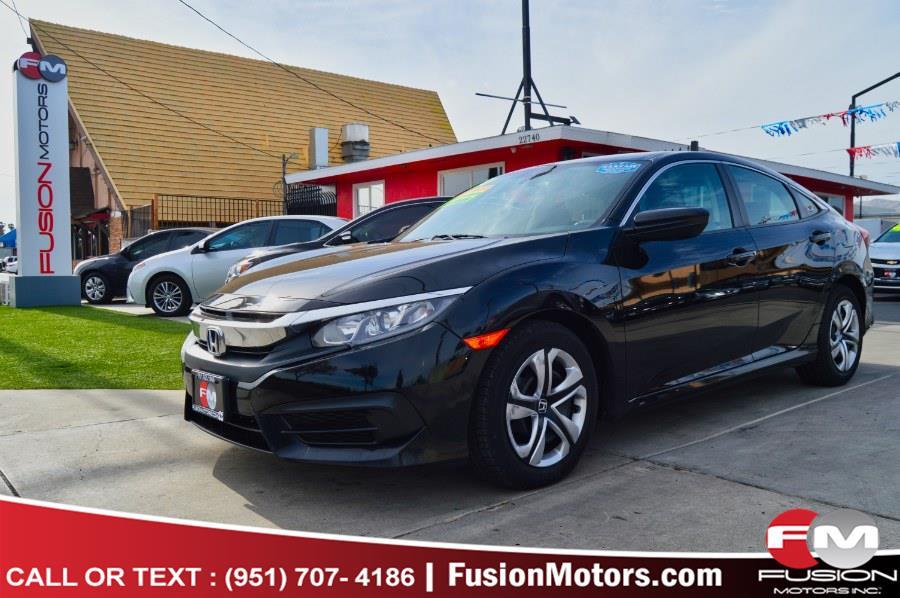 Used 2017 Honda Civic Sedan in Moreno Valley, California | Fusion Motors Inc. Moreno Valley, California