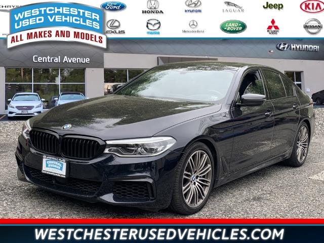 Used BMW 5 Series M550i xDrive 2018 | Westchester Used Vehicles. White Plains, New York