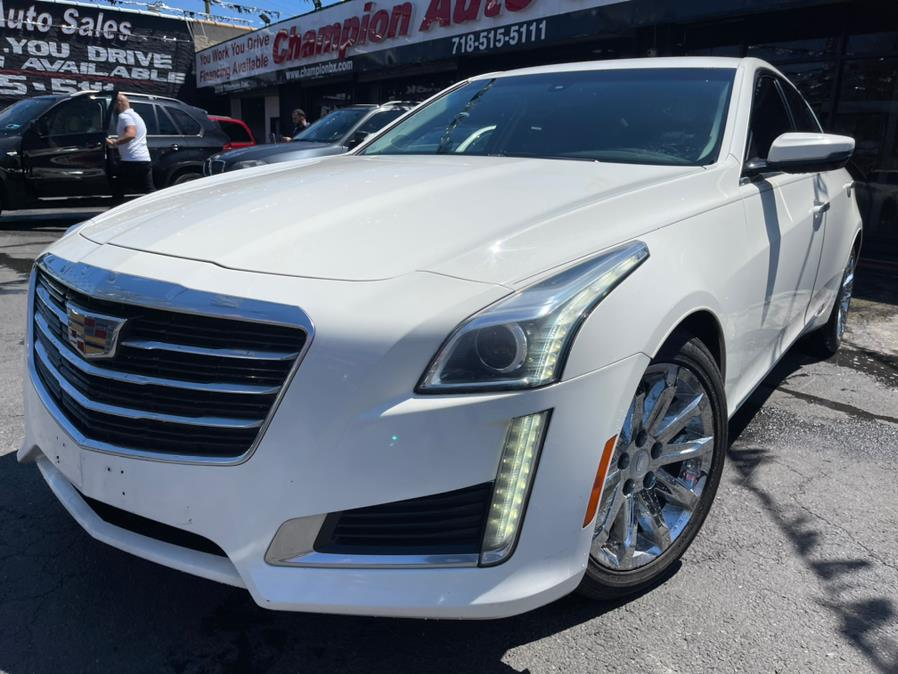 2015 Cadillac CTS Sedan 4dr Sdn 2.0L Turbo AWD, available for sale in Bronx, NY