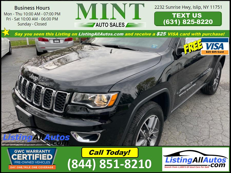 Used Jeep Grand Cherokee Limited 4x4 2020 | www.ListingAllAutos.com. Patchogue, New York