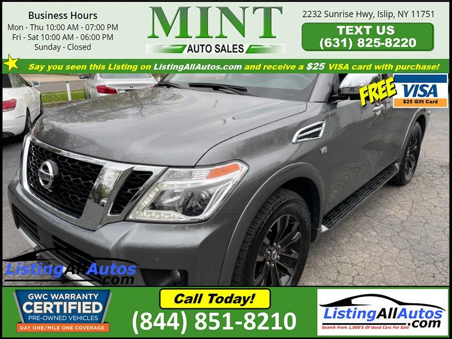 Used Nissan Armada 4x4 Platinum 2018 | www.ListingAllAutos.com. Patchogue, New York