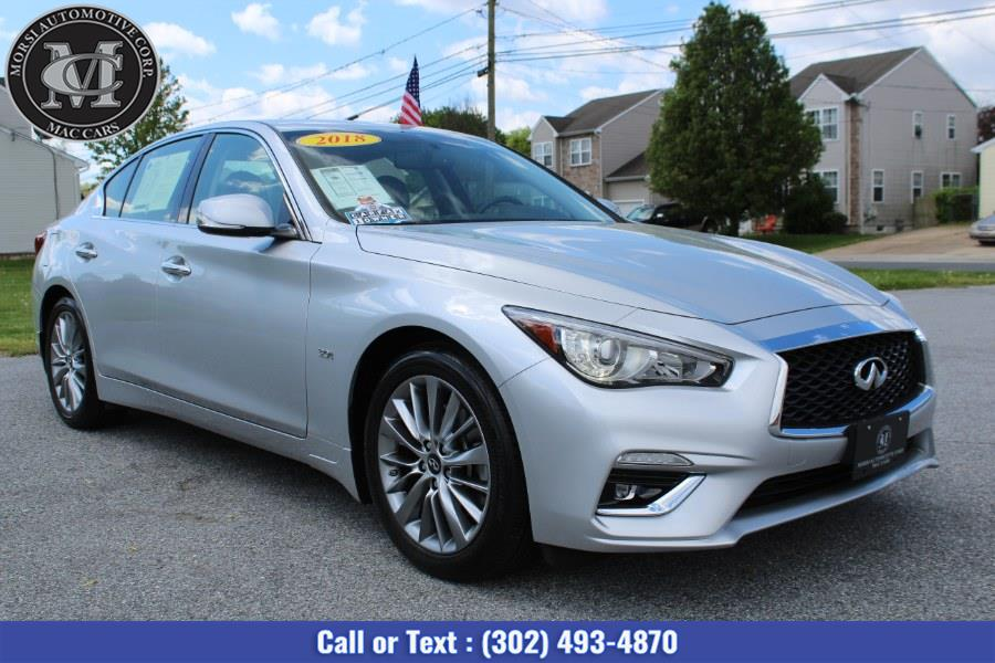 Used INFINITI Q50 3.0t LUXE AWD 2018 | Morsi Automotive Corp. New Castle, Delaware