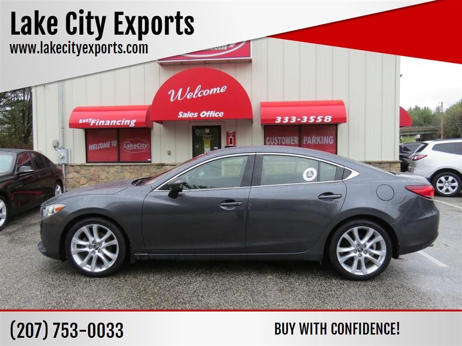 Used Mazda Mazda6 i Touring 4dr Sedan 6A 2014 | Lake City Exports Inc. Auburn, Maine