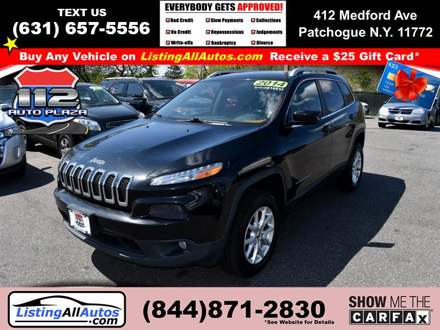 Used Jeep Cherokee 4WD 4dr Latitude 2014 | www.ListingAllAutos.com. Patchogue, New York