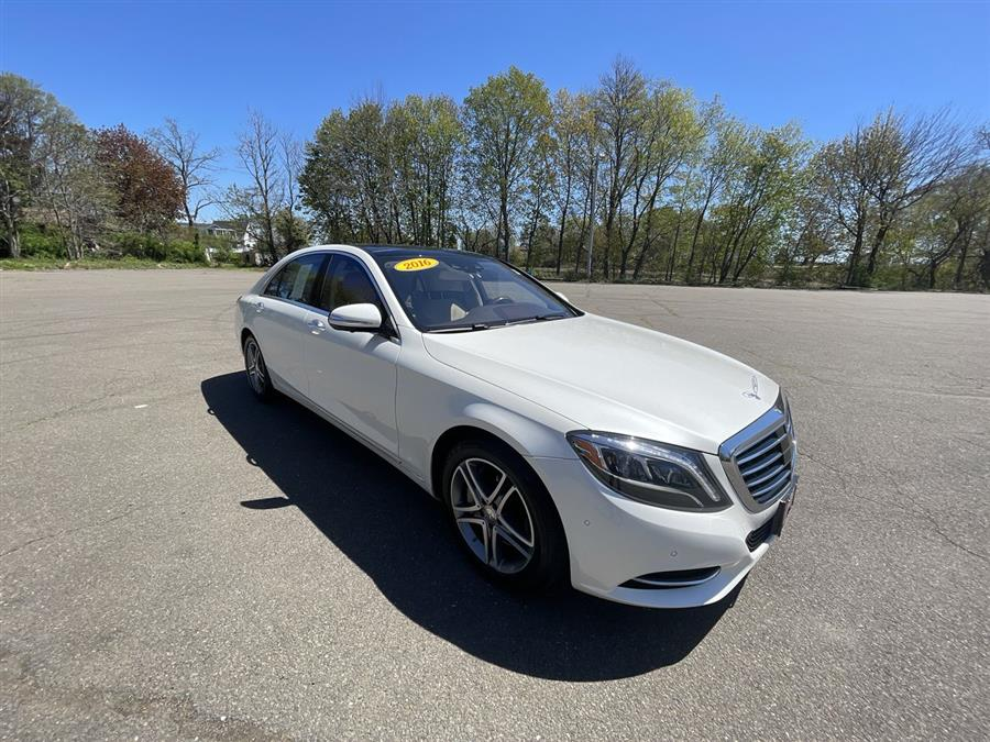 Used Mercedes-Benz S-Class 4dr Sdn S 550 4MATIC 2016 | Wiz Leasing Inc. Stratford, Connecticut