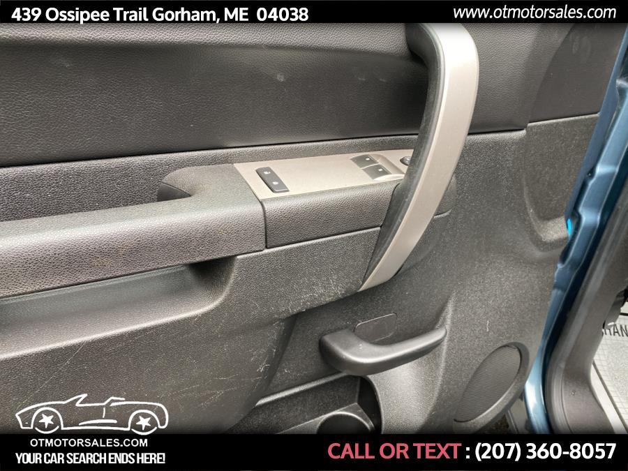 "Used Chevrolet Silverado 1500 4WD Reg Cab 119.0"" LT 2010 | Ossipee Trail Motor Sales. Gorham, Maine"