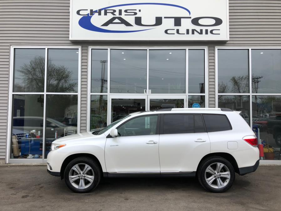 Used Toyota Highlander 4WD 4dr V6  Limited (Natl) 2012 | Chris's Auto Clinic. Plainville, Connecticut