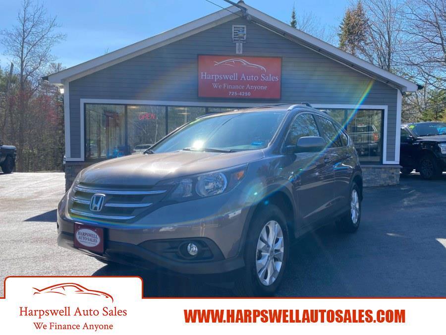 Used Honda CR-V AWD 5dr EX-L 2013 | Harpswell Auto Sales Inc. Harpswell, Maine