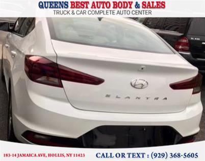 Used Hyundai Elantra SEL 2.0L Auto 2019 | Queens Best Auto Body / Sales. Hollis, New York