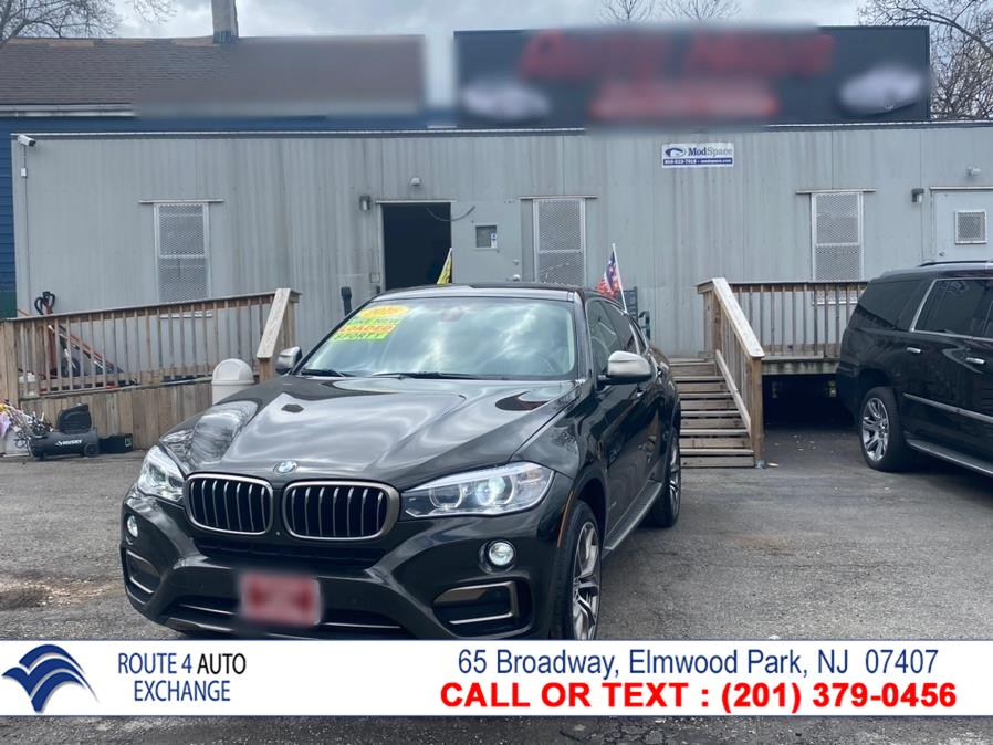 Used BMW X6 AWD 4dr xDrive35i 2016   Route 4 Auto Exchange. Elmwood Park, New Jersey