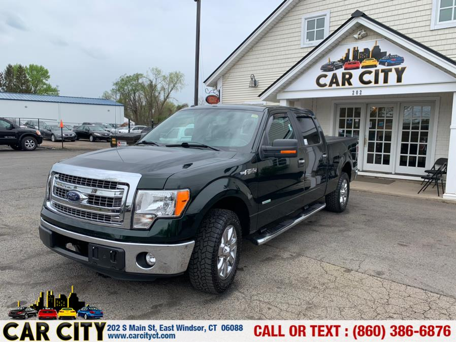 "Used Ford F-150 2WD SuperCrew 145"" XLT 2013 | Car City LLC. East Windsor, Connecticut"