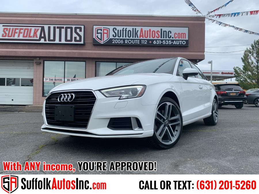 Used 2018 Audi A3 Sedan in Medford, New York | Suffolk Autos Inc. Medford, New York