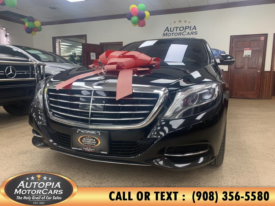 Used Mercedes-Benz S-Class 4dr Sdn S550 4MATIC 2015 | Autopia Motorcars Inc. Union, New Jersey
