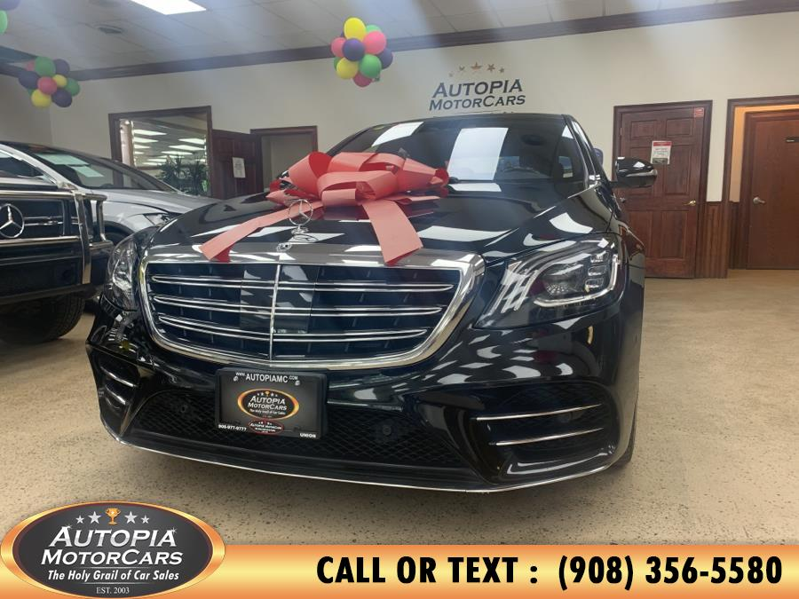 Used 2018 Mercedes-Benz S-Class in Union, New Jersey | Autopia Motorcars Inc. Union, New Jersey