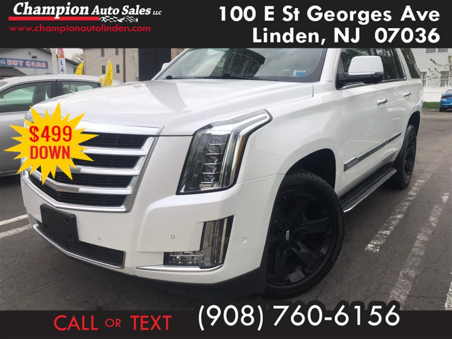 Used 2017 Cadillac Escalade in Linden, New Jersey | Champion Auto Sales. Linden, New Jersey