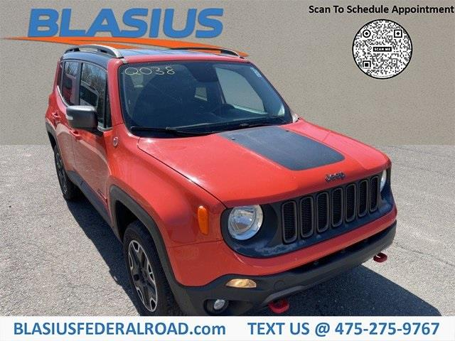 Used Jeep Renegade Trailhawk 2017 | Blasius Federal Road. Brookfield, Connecticut
