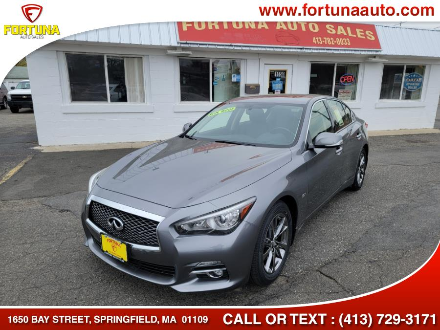 Used 2017 INFINITI Q50 in Springfield, Massachusetts | Fortuna Auto Sales Inc.. Springfield, Massachusetts