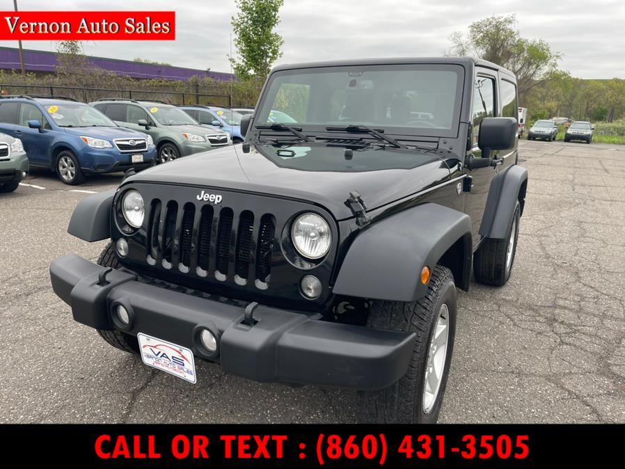 Used 2015 Jeep Wrangler in Manchester, Connecticut | Vernon Auto Sale & Service. Manchester, Connecticut