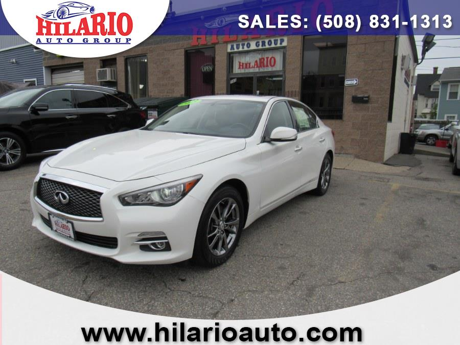 Used 2015 Infiniti Q50 in Worcester, Massachusetts | Hilario's Auto Sales Inc.. Worcester, Massachusetts
