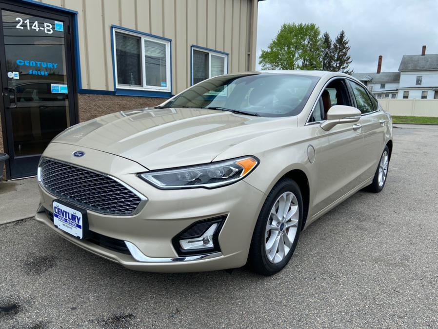 Used Ford Fusion Energi Titanium FWD 2019 | Century Auto And Truck. East Windsor, Connecticut