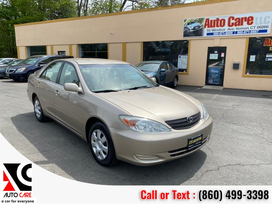Used Toyota Camry 4dr Sdn LE Auto (Natl) 2002 | Auto Care Motors. Vernon , Connecticut