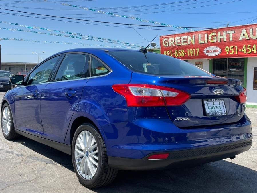 Used Ford Focus 4dr Sdn SEL 2012   Green Light Auto. Corona, California