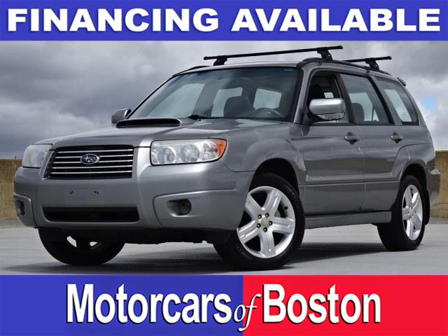 Used Subaru Forester AWD 4dr H4 Turbo AT Sports XT 2007 | Motorcars of Boston. Newton, Massachusetts