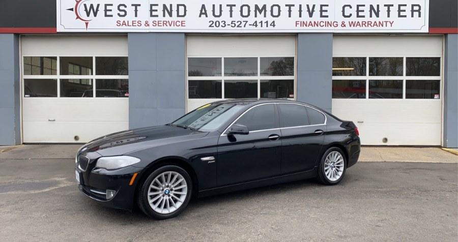 Used 2012 BMW 5 Series in Waterbury, Connecticut | West End Automotive Center. Waterbury, Connecticut